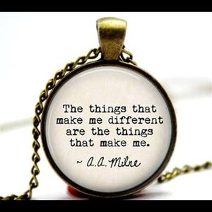 9e32dc4f5 Accessories - New Winnie the the Pooh quote Necklace